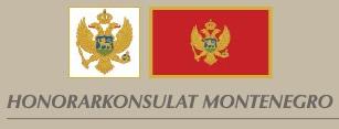 Honorarkonsulat von Montenegro Logo