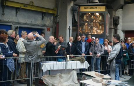 Weihe der Glocken für die Stadt Bar Montenegro Glockengießerei Grasmayr Innsbruck April 2013